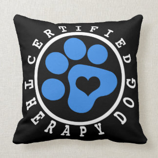 Blue Paw Therapy Dog Snuggling Pillow