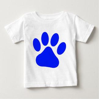 Blue Pawprint Baby T-Shirt