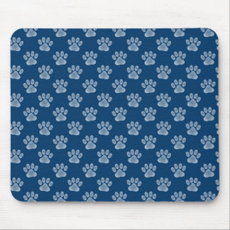 Blue Paws Mouse Pad