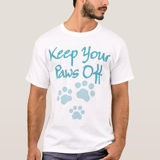 blue paws T-Shirt