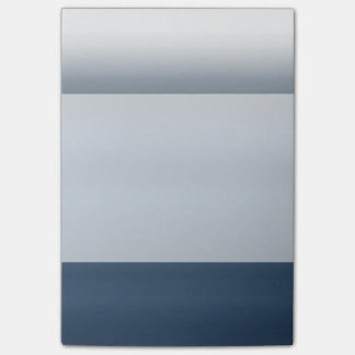 Blue Payne's Grey Watercolor Dip Dyed Ombre Gray Post-it Notes