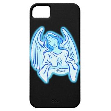 Blue Peace Angel iPhone 5G Case