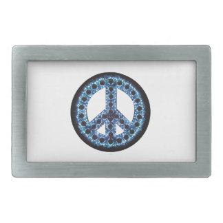 Blue Peace Belt Buckle