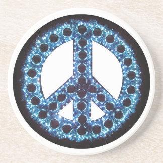 Blue Peace Coaster