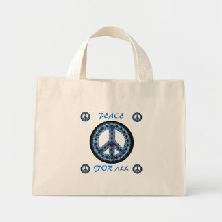 blue peace for all bag