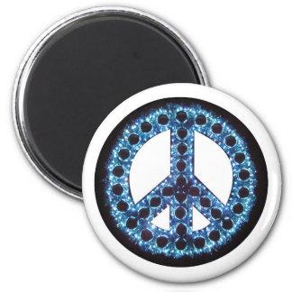 blue peace magnet