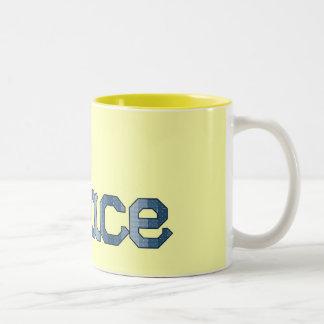 Blue Peace Mug