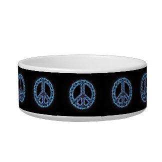 Blue Peace Pet Bowl