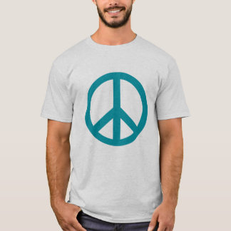 Blue Peace Sign Products T-Shirt
