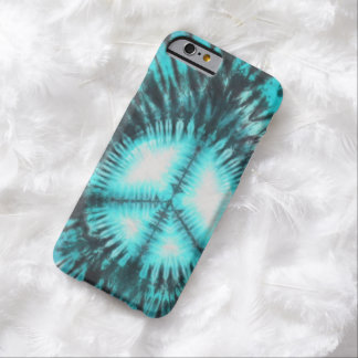 Blue Peace Sign Tie Dye iPhone6 Case Barely There iPhone 6 Case