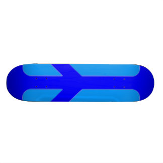Blue Peace Skateboard