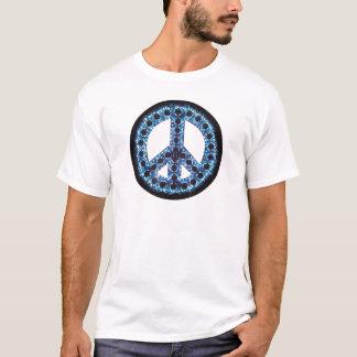 blue peace tee
