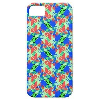 Blue-Peach-Green iPhone SE/5/5s Case