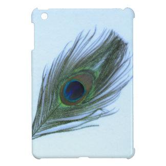 Blue Peacock Feather Case For The iPad Mini
