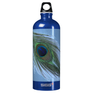 Blue Peacock Feather D SIGG Traveler 1.0L Water Bottle