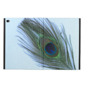 Blue Peacock Feather on White Powis iPad Air 2 Case