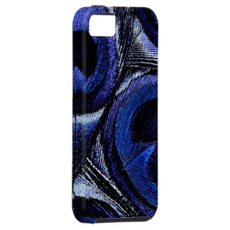 Blue Peacock Feathers iPhone 5 Cases