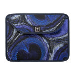 Blue Peacock Feathers MacBook Pro Sleeves