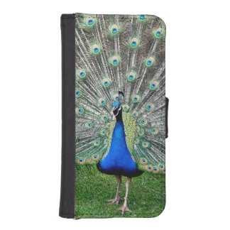 Blue Peacock iPhone 5 Wallets