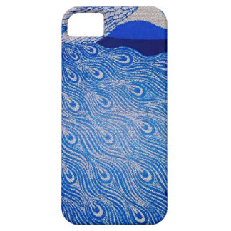 Blue Peacock Mosaic iPhone 5 Case
