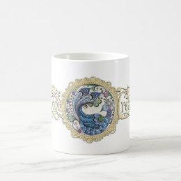 Blue Peacock Mug 11oz