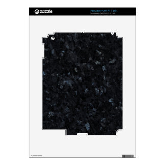 Blue Pearl Decorative Stone - Blue Reflections Decal For The iPad 2