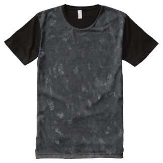 Blue Pearl Stone Pattern Background All-Over-Print T-Shirt