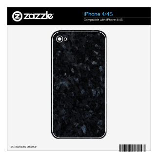 Blue Pearl Stone Pattern Background iPhone 4S Skins