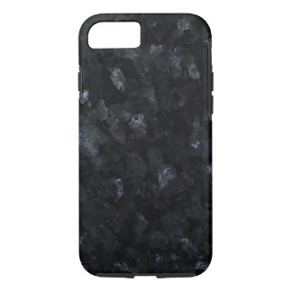 Blue Pearl Stone Pattern Background iPhone 8/7 Case