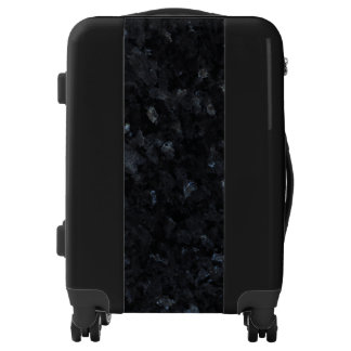 Blue Pearl Stone Pattern Background Luggage