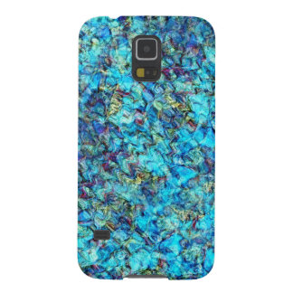 Blue Pebble Pond Abstract Phone Case