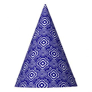 Blue Peddler Party Hat