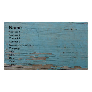 Blue Peeling Paint Double-Sided Standard Business Cards (Pack Of 100)