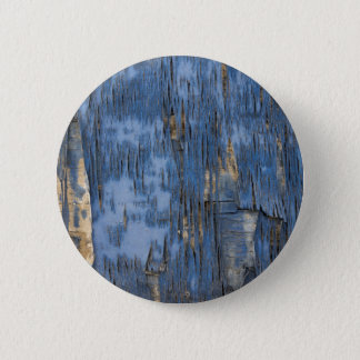 Blue Peeling Paint Texture Button
