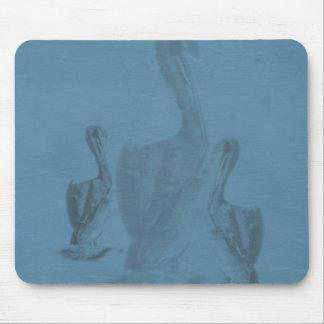 Blue Pelican Mouse Pad
