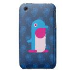 Blue Penguin Case-Mate iPhone 3 Case