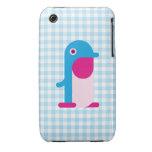Blue Penguin Case-Mate iPhone 3 Cases
