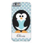 Blue Penguin Love Barely There iPhone 6 Case