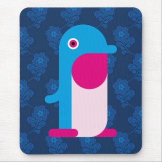 Blue Penguin Mouse Pad