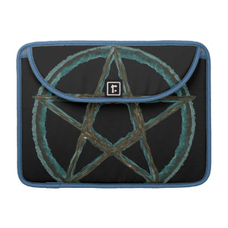 """Blue Pentagram Macbook Pro 13"""" Sleeve"""