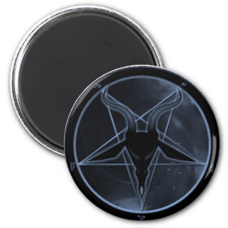 Blue Pentagram Fridge Magnets