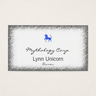 Blue (Periwinkle) Unicorn Business Card