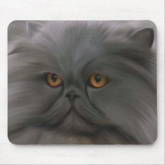 Blue Persian Longhair mousepad