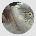Blue Persian Stickers