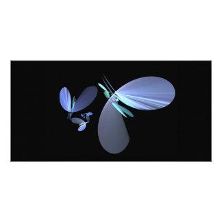blue-petal-fractal card