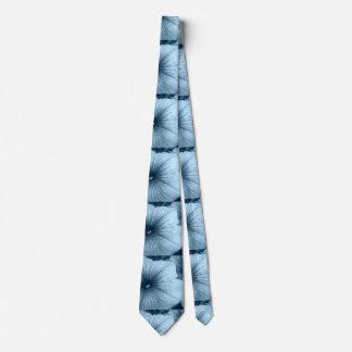 Blue Petunias Neck Tie