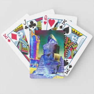 Blue Pharaoh - Playing Cards