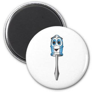 Blue Phillips Screwdriver Magnet