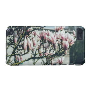 Blue Photograph, Magnolia Tree In Spring iPod Touch 5G Cover