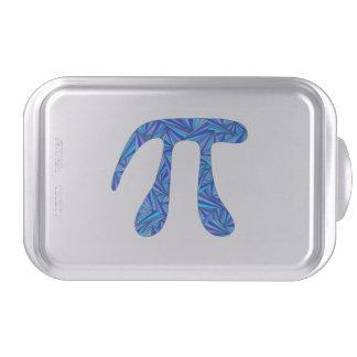 Blue Pi Symbol Math Geek Nerd Party Theme Custom Cake Pan
